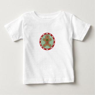 ジンジャーブレッドマンキャンデー ベビーTシャツ