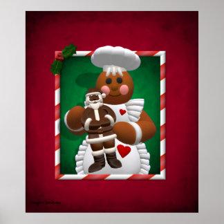 ジンジャーブレッド家族: チョコレート女の子 ポスター