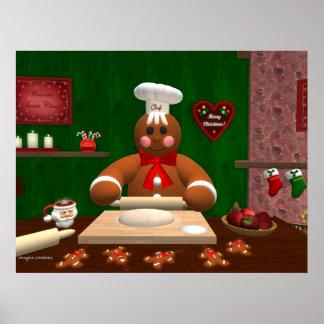 ジンジャーブレッド家族: 小さいパン屋 ポスター