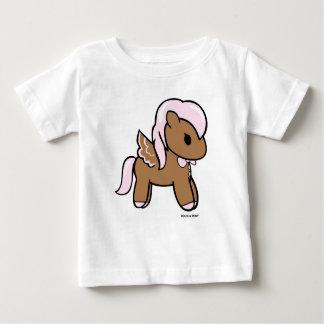 ジンジャーブレッドPony の幼児TシャツDolce及び子馬 ベビーTシャツ
