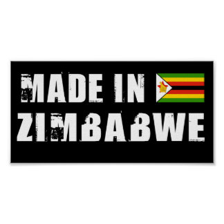 ジンバブエで作られる ポスター