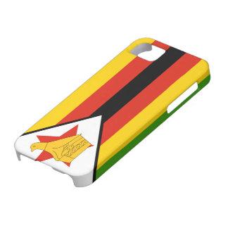 ジンバブエの旗 iPhone SE/5/5s ケース