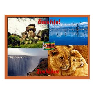 ジンバブエの美しい郵便はがき ポストカード