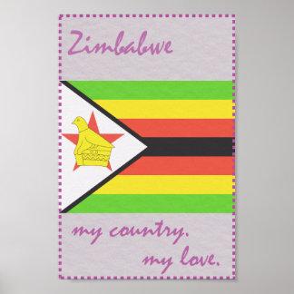 ジンバブエ私の国私の愛 ポスター