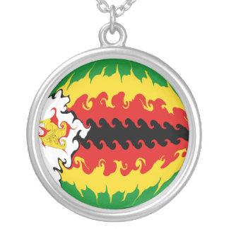ジンバブエ|すごい|旗 カスタムジュエリー