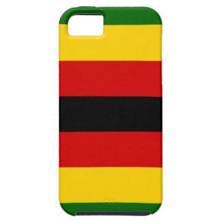 ジンバブエ-ジンバブエ- MurezaのweZimbabweの旗 iPhone SE/5/5s ケース