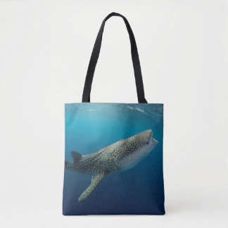 ジンベイザメの水泳 トートバッグ