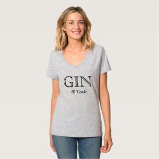ジン及びトニックのお気に入りのな飲み物Teez Tシャツ