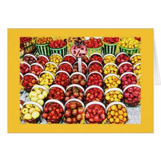 ジーンの爪の市場、モントリオールの家宝のトマト カード