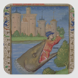 ジーンの聖書からのジョナーそしてクジラ、XXII スクエアシール