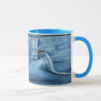 ジーンの青いコップ マグカップ
