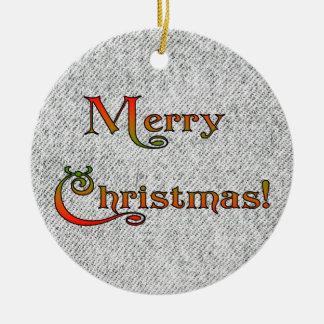 ジーンの黒いクリスマス セラミックオーナメント