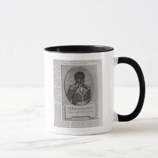 ジーンジェイクスDessalinesのポートレート マグカップ