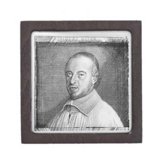 ジーンジェイクスOlier (1608-57年) (版木、銅版、版画) (b/wのphot ギフトボックス