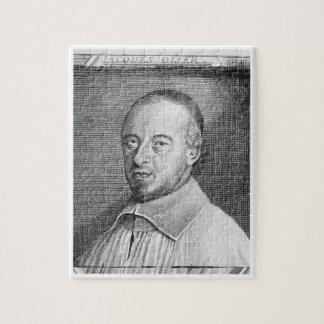 ジーンジェイクスOlier (1608-57年) (版木、銅版、版画) (b/wのphot ジグソーパズル