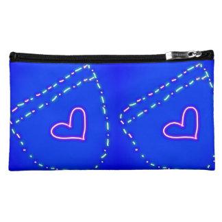 ジーンズのスタイルのポケット感覚の化粧品のバッグ コスメティックバッグ