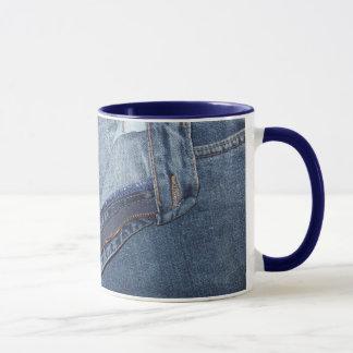 ジーンズのマグ マグカップ