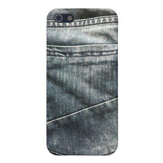 ジーンズの小型のiphone 4ケース iPhone 5 ケース