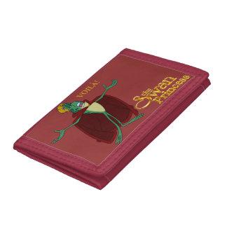 ジーンボブVoilàの財布 ナイロン三つ折りウォレット