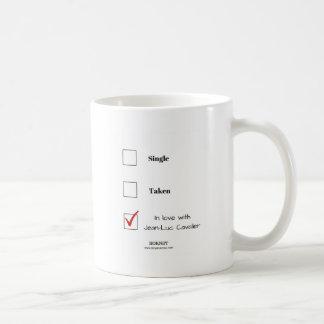 ジーンリュックの騎士との愛 コーヒーマグカップ