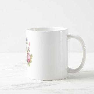 ジーンルイPrevostのバラおよびパンジーの花束 コーヒーマグカップ