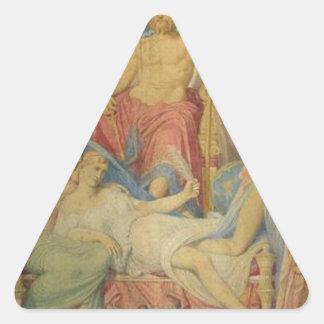 ジーンAugusteドミニックIngre著ムーサの誕生 三角形シール