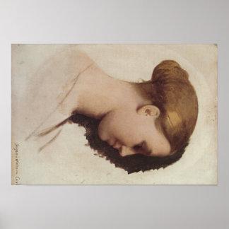 ジーンAuguste Ingresの芸術 ポスター