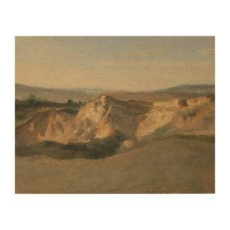 ジーンBaptisteカミーユCorot -イタリアンな景色 ウッドウォールアート