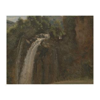 ジーンBaptisteカミーユCorot - Terniの滝 ウッドウォールアート