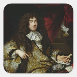 ジーンBaptiste Colbert Marquis de Seignelay スクエアシール