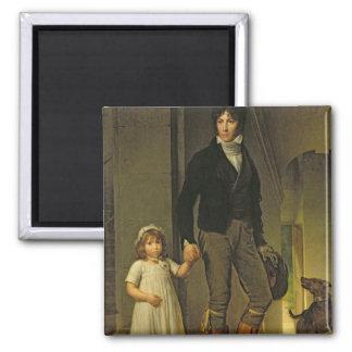 ジーンBaptiste Isabeyおよび彼の娘 マグネット