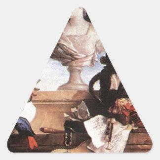 ジーンBaptiste Oudry著ヨーロッパのアレゴリー 三角形シール