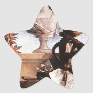 ジーンBaptiste Oudry著ヨーロッパのアレゴリー 星シール