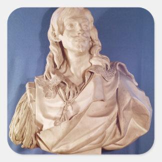 ジーンde Rotrou 1783年のバスト スクエアシール