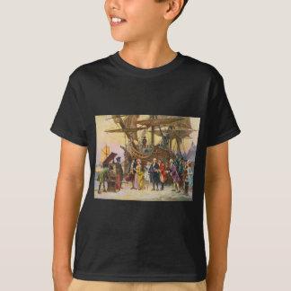 ジーンFerris著フィラデルヒィアへのフランクリンのリターン Tシャツ