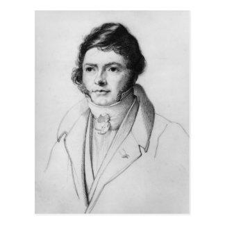 ジーンFrancois Champollion 1830年のポートレート ポストカード
