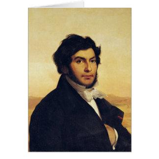 ジーンFrancois Champollion 1831年のポートレート カード