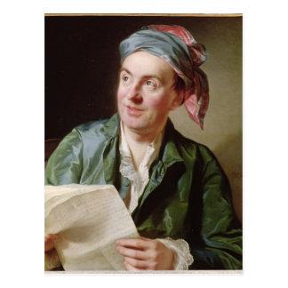 ジーンFrancois Marmontel 1767年のポートレート ポストカード