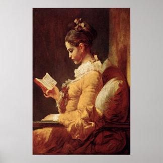 ジーンHonore Fragonardの絵画のポスター ポスター