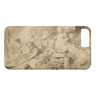 ジーンHonore Fragonard著パンケーキメーカー iPhone 8 Plus/7 Plusケース
