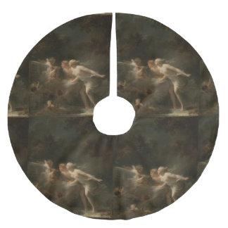 ジーンHonore Fragonard著愛の噴水 ブラッシュドポリエステルツリースカート