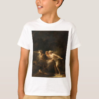 ジーンHonore Fragonard著愛の噴水 Tシャツ