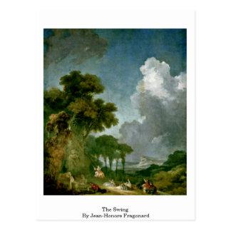 ジーンHonore Fragonard著振動 ポストカード