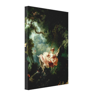 ジーンHonore Fragonard -振動の事故 キャンバスプリント