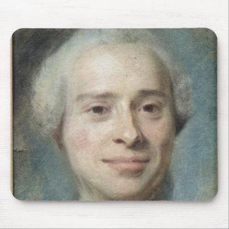 ジーンLe Rondのd'Alembert 1753年のポートレート マウスパッド