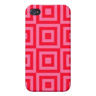 スイカのピンクのタイル iPhone 4 COVER