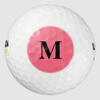 スイカのピンクの無地 ゴルフボール
