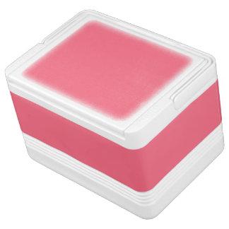 スイカのピンクの無地 IGLOOクーラーボックス