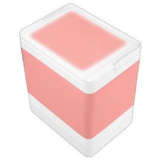 スイカのピンクの素晴らしさ(無地の背景) IGLOOクーラーボックス