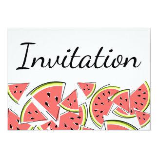 スイカの招待状 カード